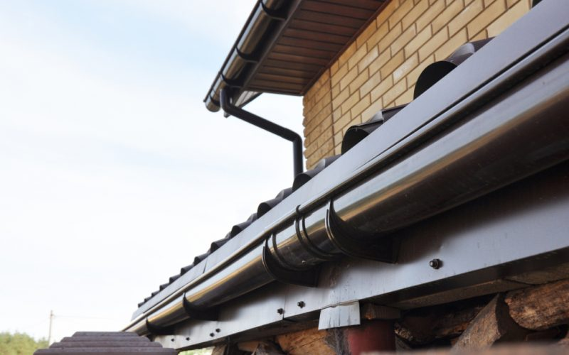 The cost for local rain gutter cleaning
