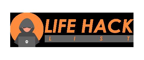 Life Hacks List