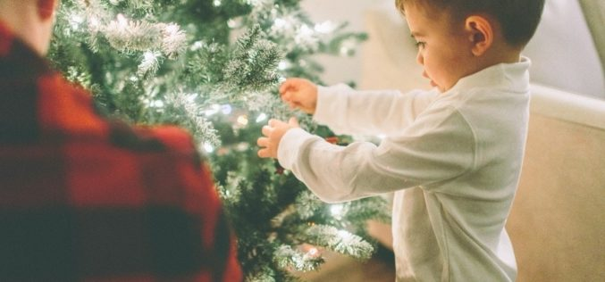 Discover the many joys of hanging Christmas engagement ornaments
