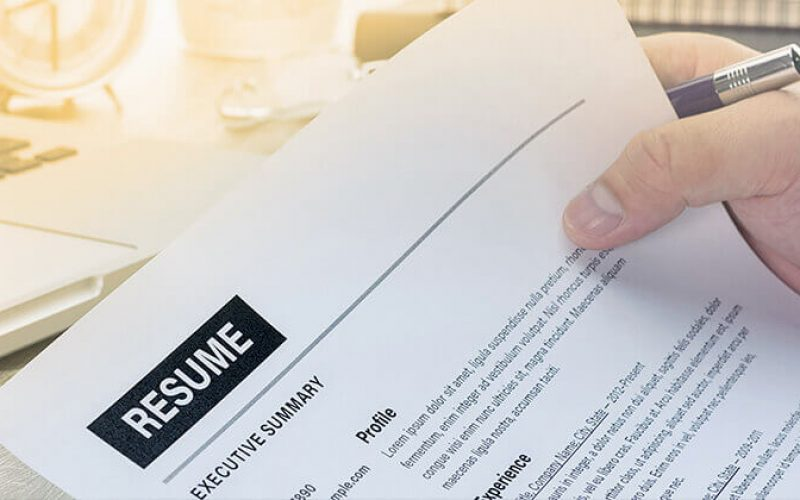 What Are The Things A Person Must Mention In A Resume?