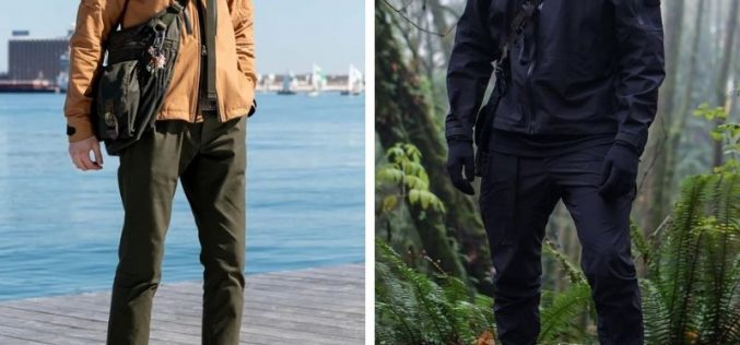 Men's Techwewear Pants and the Given Exposures