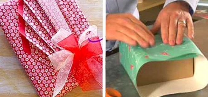 The Way To Present The Gifts. The Gift Wrapping