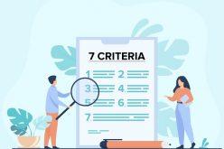 7 stock picking criteria by Benjamin Graham