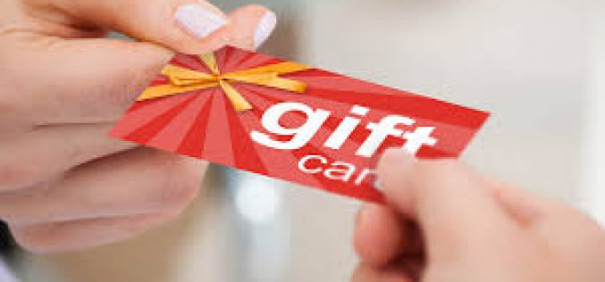 Tips For activating and using your gift cards!