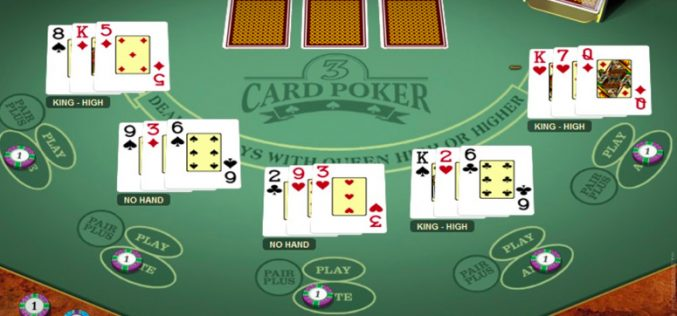 What are the strategies that you can use in an online poker game?